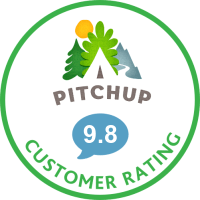 9.8 Customer Rating on Pitchup